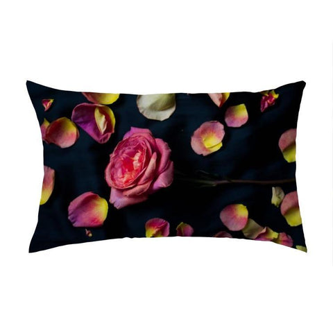 Overall Print Pillow - Rose Petals - Pillow - Maletropolis