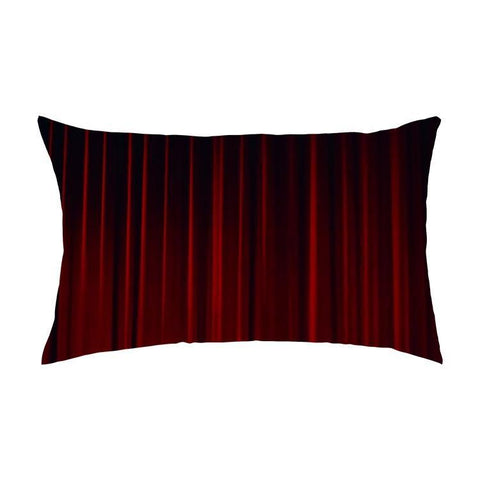 Overall Print Pillow - Theater Curtain - Pillow - Maletropolis
