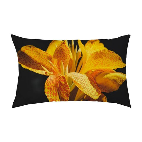 Printy6 Pillow 16''x24'' / Only Pillow Case Overall Print Pillow - Yellow Iris