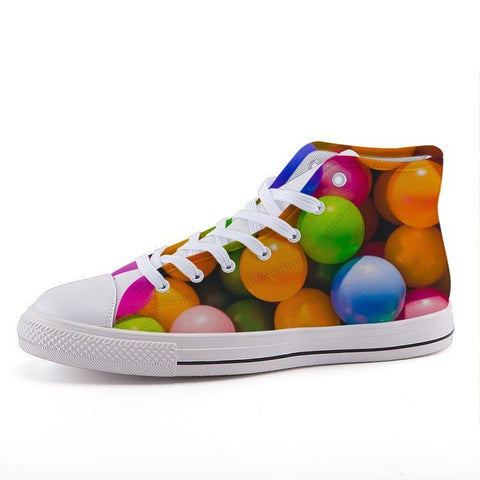Printy6 Shoes 35 Maletropolis Custom High-Top Pride Sneakers - Ball Pit