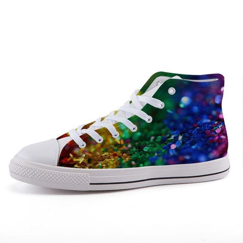 Printy6 Shoes 35 Maletropolis Custom High-Top Pride Sneakers - Confetti