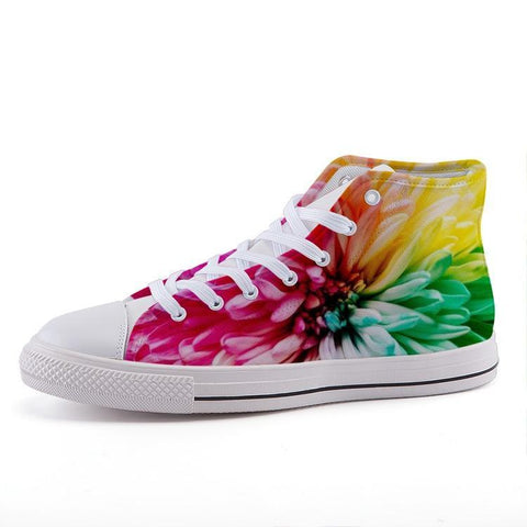 Printy6 Shoes 35 Maletropolis Custom High-Top Pride Sneakers - Dahlia