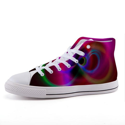 Printy6 Shoes 35 Maletropolis Custom High-Top Pride Sneakers - Infinity