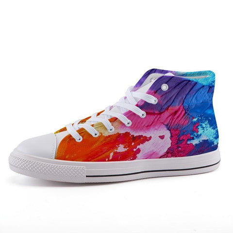 Printy6 Shoes 35 Maletropolis Custom High-Top Pride Sneakers - Painter