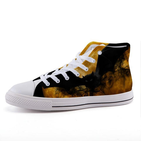Printy6 Shoes 35 Maletropolis Custom High-Top Sneakers - Bat