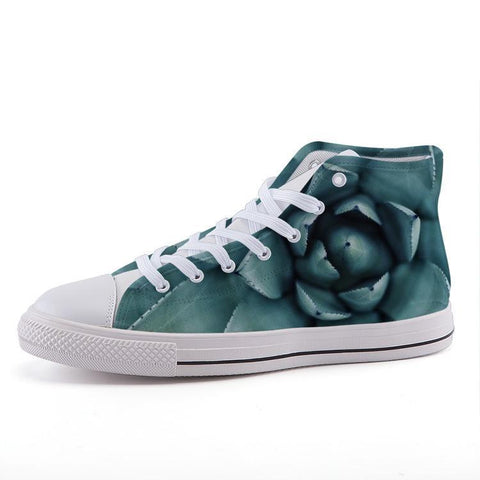 Printy6 Shoes 35 Maletropolis Custom High-Top Sneakers - Big Succulent