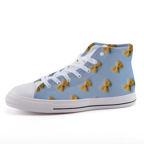 Printy6 Shoes 35 Maletropolis Custom High-Top Sneakers - Bowtie Pasta