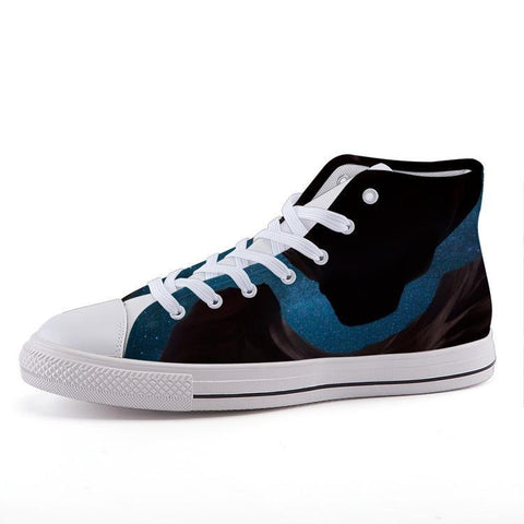 Printy6 Shoes 35 Maletropolis Custom High-Top Sneakers - Canyon