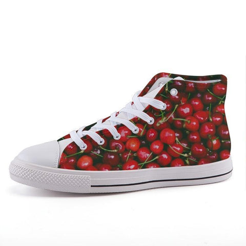 Printy6 Shoes 35 Maletropolis Custom High-Top Sneakers - Cherries