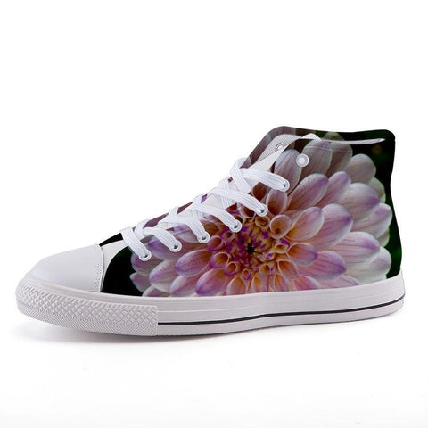 Printy6 Shoes 35 Maletropolis Custom High-Top Sneakers - Chrysanthemum