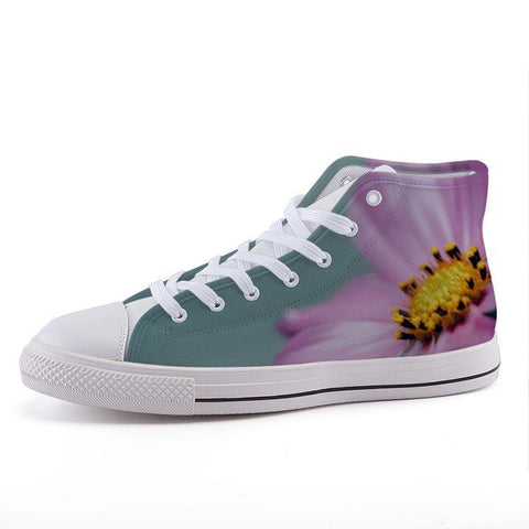 Printy6 Shoes 35 Maletropolis Custom High-Top Sneakers - Clematis