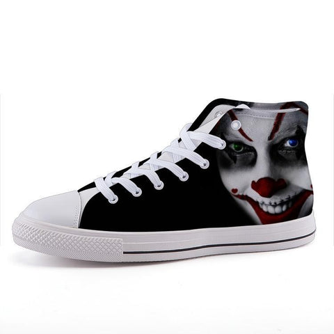 Printy6 Shoes 35 Maletropolis Custom High-Top Sneakers - Clown