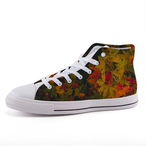Printy6 Shoes 35 Maletropolis Custom High-Top Sneakers - Fall Leaves