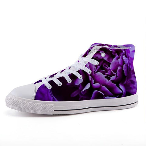 Printy6 Shoes 35 Maletropolis Custom High-Top Sneakers - Flower