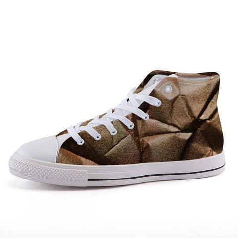 Printy6 Shoes 35 Maletropolis Custom High-Top Sneakers - Folds