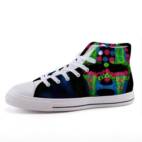 Printy6 Shoes 35 Maletropolis Custom High-Top Sneakers - Glow