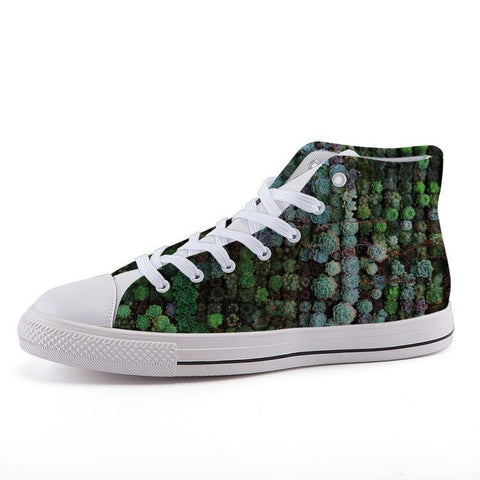 Printy6 Shoes 35 Maletropolis Custom High-Top Sneakers - Mini Succulents