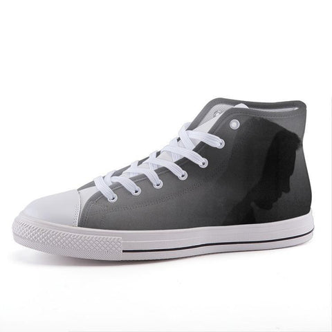 Printy6 Shoes 35 Maletropolis Custom High-Top Sneakers - Profile