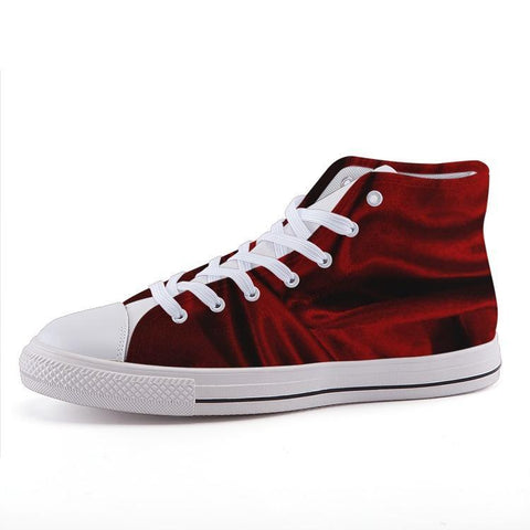 Printy6 Shoes 35 Maletropolis Custom High-Top Sneakers - Red Wave