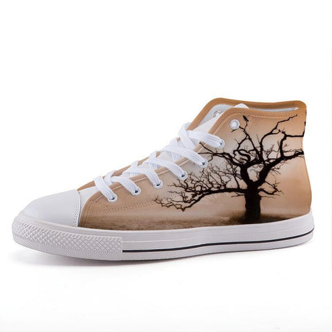 Printy6 Shoes 35 Maletropolis Custom High-Top Sneakers - Tree