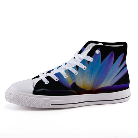 Printy6 Shoes 35 Maletropolis Custom High-Top Sneakers - Water Lily