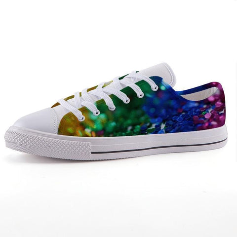 Printy6 Shoes 35 Maletropolis Custom Low-Top Pride Sneakers - Confetti