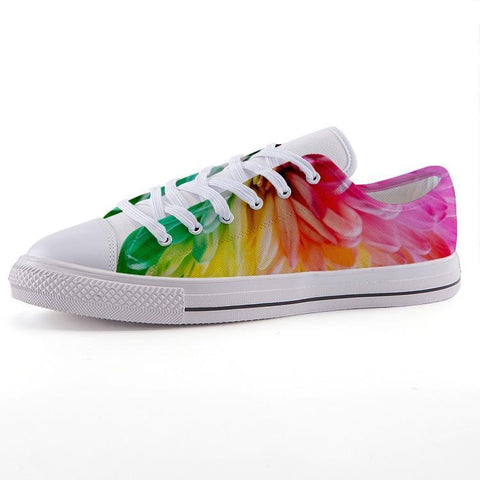 Printy6 Shoes 35 Maletropolis Custom Low-Top Pride Sneakers - Dahlia