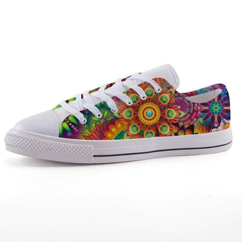 Printy6 Shoes 35 Maletropolis Custom Low-Top Pride Sneakers - Hippie