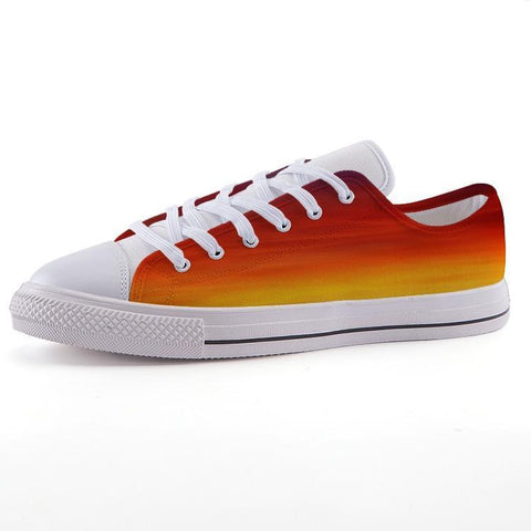 Printy6 Shoes 35 Maletropolis Custom Low-Top Pride Sneakers - Rainbow Blend