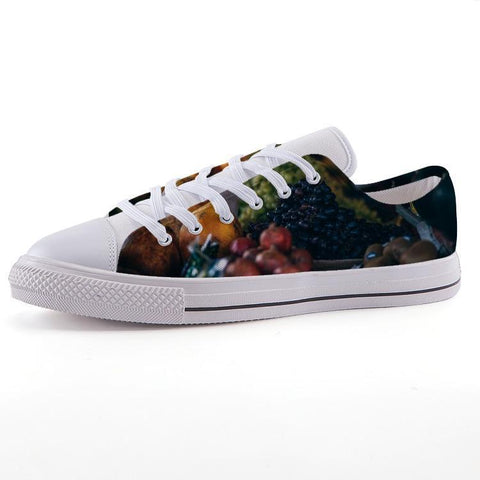 Printy6 Shoes 35 Maletropolis Custom Low-Top Sneakers - Fruit