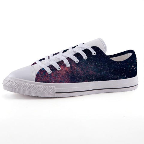 Printy6 Shoes 35 Maletropolis Custom Low-Top Sneakers - Galaxy