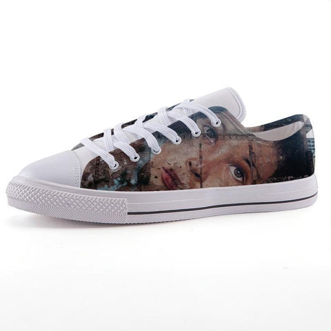 Printy6 Shoes 35 Maletropolis Custom Low-Top Sneakers - Grafitti Face