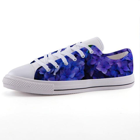 Printy6 Shoes 35 Maletropolis Custom Low-Top Sneakers - Hydrangea