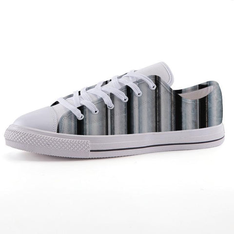 Printy6 Shoes 35 Maletropolis Custom Low-Top Sneakers - Pipe