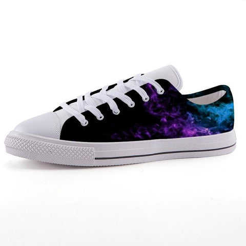 Printy6 Shoes 35 Maletropolis Custom Low-Top Sneakers - Purple Haze