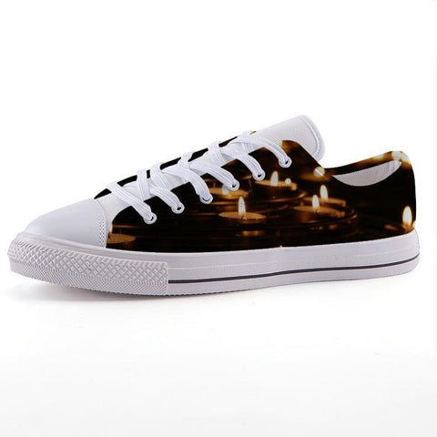 Printy6 Shoes 35 Maletropolis Custom Low-Top Sneakers - Votive