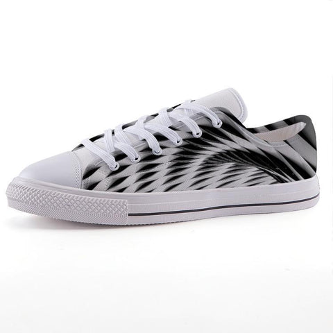 Printy6 Shoes 35 Maletropolis Custom Low-Top Sneakers - Weave