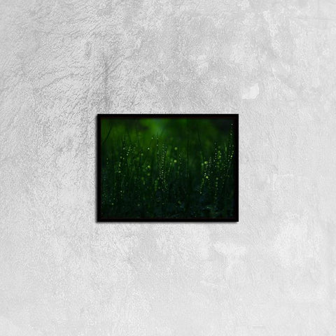 Printy6 Wall art 40cm×30cm Single Panel Canvas Print Wall Art - Dew
