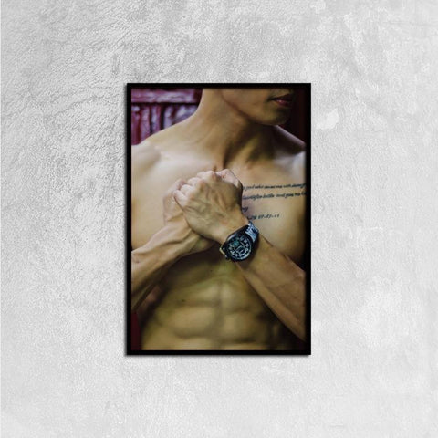 Printy6 Wall art 40cm×60cm Single Panel Canvas Print Wall Art - Grip
