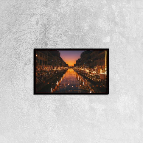 Printy6 Wall art 50cm×30cm Single Panel Canvas Print Wall Art - Venice