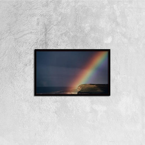 Printy6 Wall art 50cm×30cm Single Panel Canvas Print Wall Art - Wide Rainbow