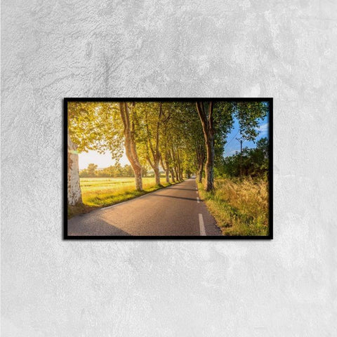 Printy6 Wall art 60cm×40cm Single Panel Canvas Print Wall Art - Country Road