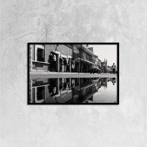 Printy6 Wall art 60cm×40cm Single Panel Canvas Print Wall Art - Main Street