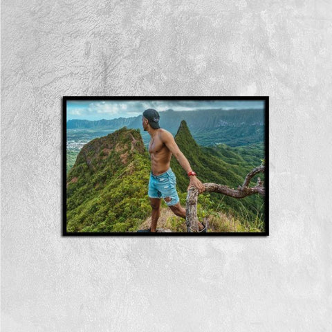 Printy6 Wall art 60cm×40cm Single Panel Canvas Print Wall Art - Vista
