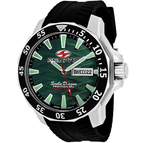 Seapro Watches Men - Accessories - Watches Seapro 1000 Meters Scuba Dragon Diver Limited Edition