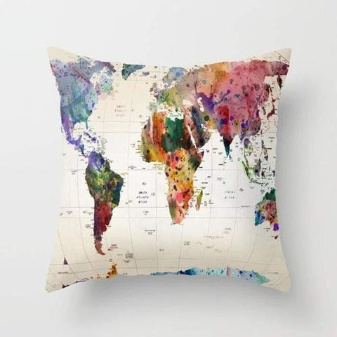Spocket Home & Garden Map Pillow