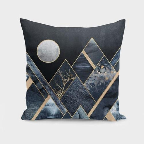Spocket Home & Garden Stormy Mountains Cushion/Pillow