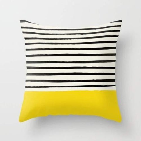 Spocket Home & Garden Sunshine Stripes Cushion/Pillow