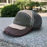 Sun Ben Inc. Men - Accessories - Hats Khaki Distressed Baseball Cap