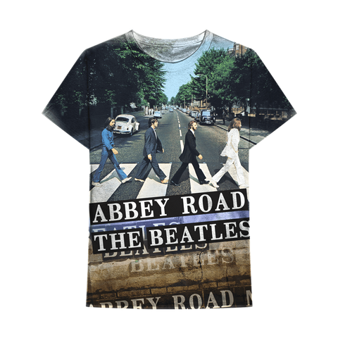The Beatles | Abbey Road Sublimated T-Shirt Maletropolis